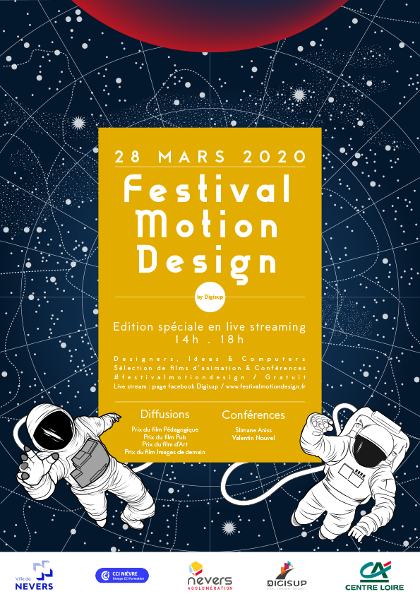 Festival Motion Design by Digisup